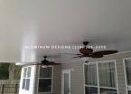 2 hidden fan beams inside of the insulated panels